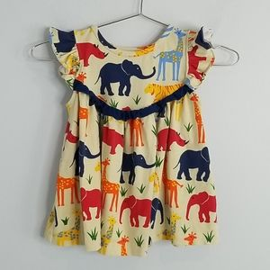 Kelly's Kids Zoo Animals Dress 3-4